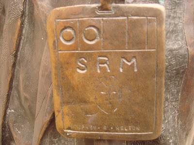 LIFFE trader statue badge