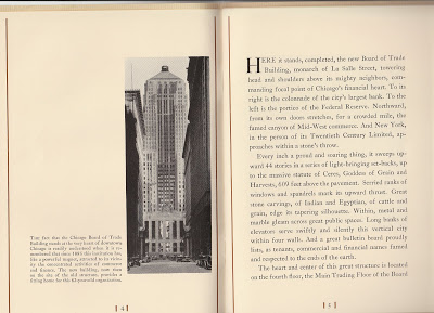 CBOT opening program 1930 page