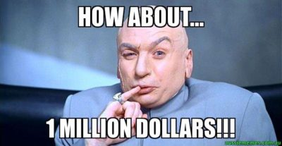 Dr. Evil 1 Million Dollars