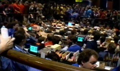 CBOT Treasury bond floor 1993