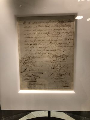 Buttonwood Agreement NYSE