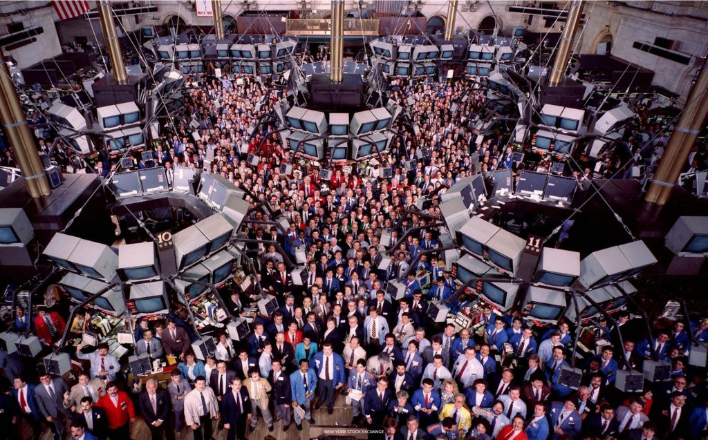 NYSE photo by Neal Slavin